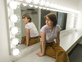 Actor Lili Beaudoin at the BMO Theatre Centre in Vancouver on June 11. Beaudoin is appearing in I, Claudia, which opens at the Newmont Stage at the theatre on July 22.