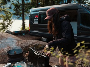 A handout photo of a Karma Camper Van. The vans are sold in Calgary and Richmond.