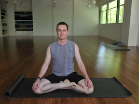 Terry McBride at a Yyoga studio in downtown Vancouver in 2015.