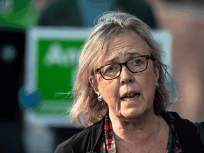Elizabeth May said she fully accepted Annamie Paul's need to move to centre stage in the Green Party, which is why she has kept a low profile over the last year.