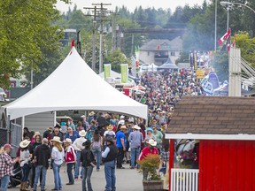 The Cloverdale Rodeo and Country Fair.