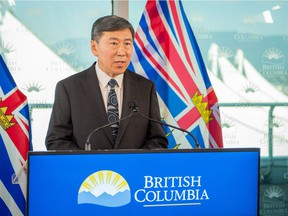 Former Vancouver police chief Jim Chu has been named BCEHS chair (B.C. Emergency Health Services).