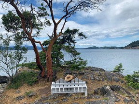 One of many lookouts near Pender Harbour.