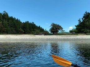 A water tour with Galiano Kayaks is a great way to experience the Southern Gulf Islands.