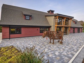 The Red Barn at the Tsawwassen development Southlands. Developers are offering enticing amenities as part of their marketing pitches.