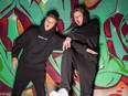 Funkanometry is a dance crew from Vancouver Island featuring, from left, Jacksun Fryer and Carlow Rush. The duo has appeared on NBC's World of Dance.