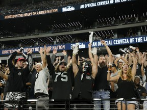 Monday night's Baltimore Ravens-Las Vegas Raiders game in Sin City, the first regular season game played before fans in its new stadium — and city — was the biggest Monday Night Football opening week TV audience in eight years (15.3 million on the Nielsen scale).