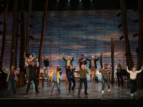 Take a gander: The cast of Come From Away.