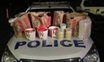 Police pulled over two men trying to smuggle in several KFC items to locked-down Auckland.