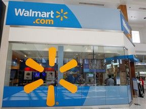 A view of the Walmart.com store at the Topanga Plaza in Canoga Park, Calif., Nov. 8, 2011.