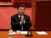 """Chinese President Xi Jinping on Saturday, October 9, 2021. More than half of Canadians held a favourable view of China just 15 years ago. Now, it's one of our disliked foreign powers. Read more in """"Canada Abroad,"""" below."""
