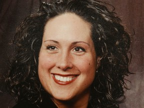 An image of the late Meredith McPhee, who was struck and killed by a vehicle while riding her bicycle on Highway 6 on the Bruce Peninsula in July 2008.