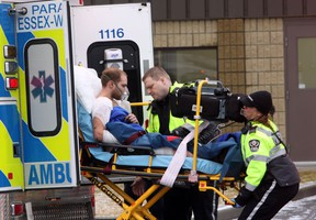 Windsor electrician taken to hospital after workplace accident