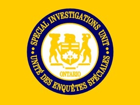 The logo of Ontario's Special Investigations Unit. The SIU is an arm's-length civilian agency tasked with investigating police when officers are involved in an incident resulting in death, serious injury or allegations of sexual assault.
