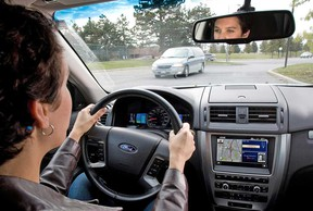 File photo of a driver. (Windsor Star files)