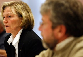 Maryvale executive director Connie Martin, left, is pictured in this 2009 file photo. (Windsor Star files)