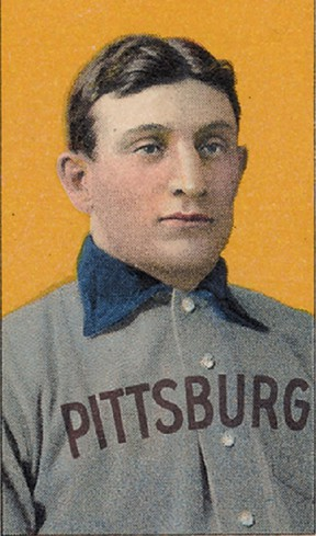 A rare T206 Honus Wagner baseball card, originally released by the American Tobacco Co., sold for $2,105,770.50 in an online sale, Goldin Auctions said Saturday, April 6, 2013. A T206 Wagner baseball card sold for $2.8 million through an auction in 2007, setting a world record price for a baseball card. Source: SCP Auctions via Bloomberg News