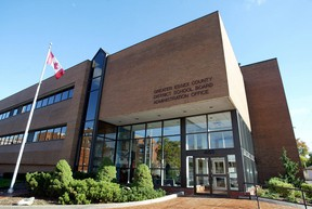 Greater Essex County District School Board offices on Park Street West. (Windsor Star files)