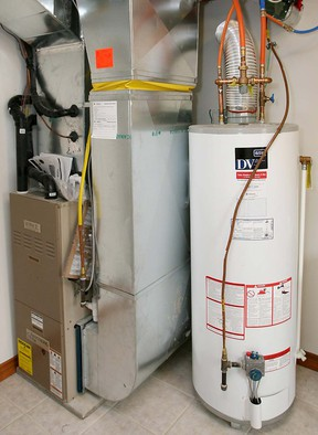 A detection system sold by a local company can prevent water damage from leaking appliances, such water heaters. (Windsor Star file photo)