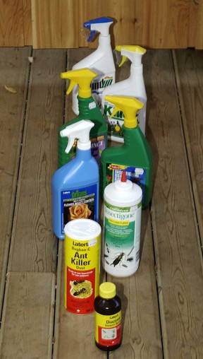 File photo of insecticides, pesticides and herbicides. (Windsor Star files)