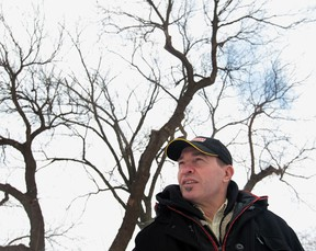 Frank Butler is on the City of Windsor's environmental committee and he said on Monday, Feb. 10, 2014, that he is hoping the city will pass a bylaw which would require people to obtain a permit in order to remove trees, even on private property. (JASON KRYK/The Windsor Star)