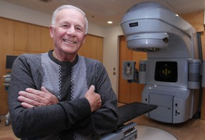 John Viecelli, who donated $250,000 to the cancer centre at Windsor Regional Hospital - Met Campus, is pictured at the centre, Friday, Dec. 5, 2014.  (DAX MELMER/The Windsor Star)