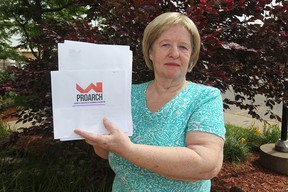 Colleen MacLachlan is warning about an Internet scam where people are told they have been hired by Canada Post.  (Windsor Star photo)