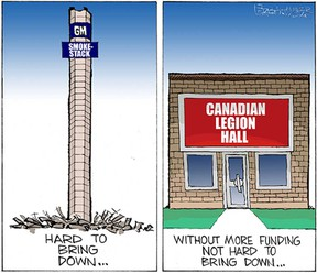 Mike Graston's Colour Cartoon For Wednesday, August 12, 2015