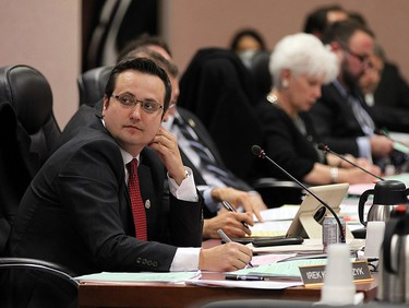 Irek Kusmierczyk is pictured at a Windsor city council meeting in this October 2015 file photo.