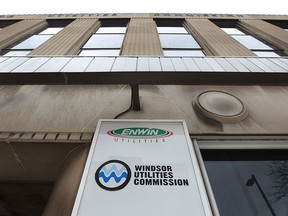 Enwin Utilities and Windsor Utilities Commission offices on Ouellette Avenue is pictured in this file photo.