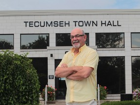 Gary McNamara, Tecumseh Mayor and president of the Association of Municipalities of Ontario, is pictured in this file photo.