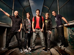 Canadian pop-punk band Simple Plan poses for a promotional image. The band plays a charitable concert at Windsor's Olde Walkerville Theatre on Wednesday, Feb. 17.