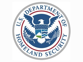 Logo of the U.S. Department of Homeland Security, Customs and Border Protection.