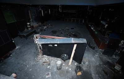 The interior of the once Vanity Theatre is seen in Windsor on Tuesday, March 22, 2016