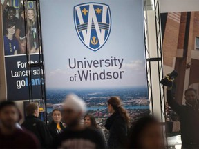 Inside the University of Windsor's CAW Student Centre during the institution's Spring Open House event on March 5, 2016.