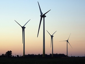 Huge wind turbines are now part of the landscape in Essex County.