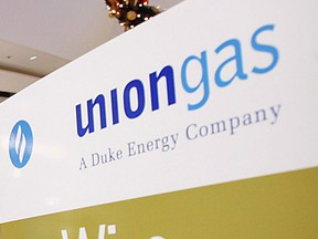 The Union Gas logo is pictured in this file photo.