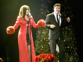 Donny and Marie Osmond brought festive cheer to a sold-out show at Caesars Windsor's Colosseum on Dec. 22, 2013.