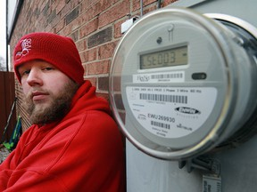 Windsor rapper Jeremy Renaud (J Reno) is shown at his Windsor, ON. home on Wednesday, January 18, 2017. He released a song and video called Hydro Bills that takes aim at Ontario's soaring hydro rates and Premier Kathleen Wynne.
