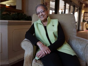 Frieda Steele is photographed at her home in Windsor on Feb. 3, 2017. Windsor police are making a movie honouring some of their trailblazing black police officers. Steele is the daughter of Windsor's first black police officer, Alton Parker.