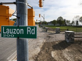 Land owned by Matty Moroun on Riverside Drive East at Lauzon Road in Windsor, Ont., on April 21, 2017. It's the site of the old Abars Tavern.