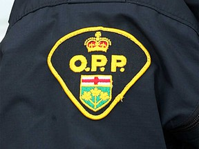 Badge of an Essex County OPP officer.