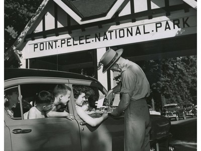 Point Pelee National Park 1955
