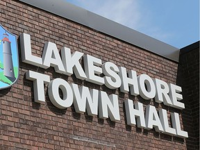 Lakeshore town hall in Belle River is seen on Sept. 19, 2018.