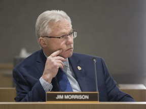 Ward 10 Coun. Jim Morrison, is pictured at Windsor City Council, Monday, February 4, 2019.