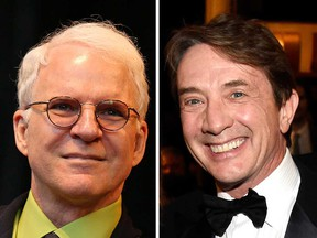 Comedy legends Steve Martin (left) and Martin Short (right) in file photos. The duo are bringing their stage act back to Caesars Windsor on Sept. 27, 2019.