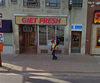 A picture of Mark Dobrowski's former store Get Fresh at 111 Wyandotte St. W from a 2009 Google Street View image.