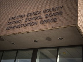 The Greater Essex County District School Board Administration Building.