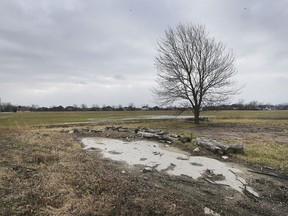 A new subdivision in LaSalle is being planned for this 24-hectare parcel of land near Laurier Parkway,  shown on Thursday, west of Huron Church Line.