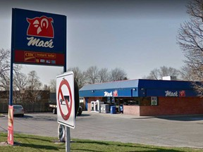 The Mac's convenience store at 3803 Walker Rd. in Windsor is shown in an April 2014 Google Maps image. The location was one of three stores robbed by a man on the morning of Jan. 8, 2020.